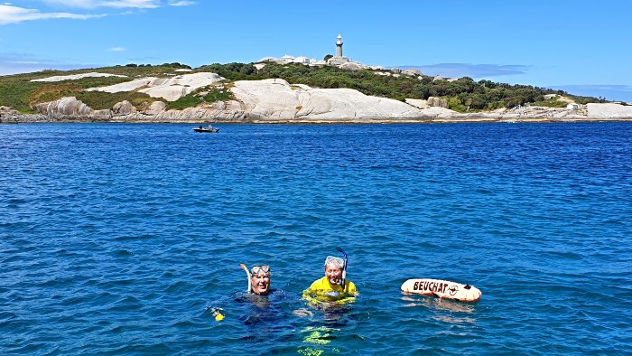 Snorkeling with Seals at Montague Island off Narooma - just 1 of 14 Australian Islands to visit