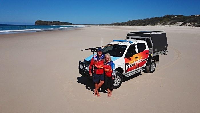 Using Cel-Fi Go on Fraser Island