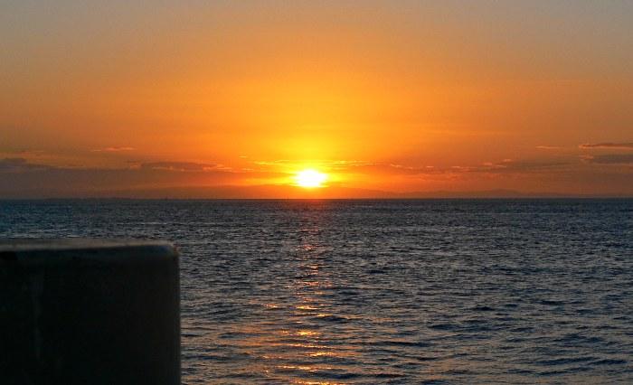 Sunset on Straddie