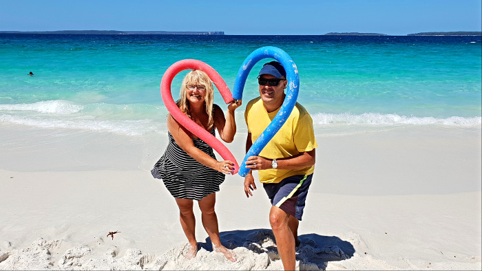 Life is a dress rehearsal - Loving Hyams Beach