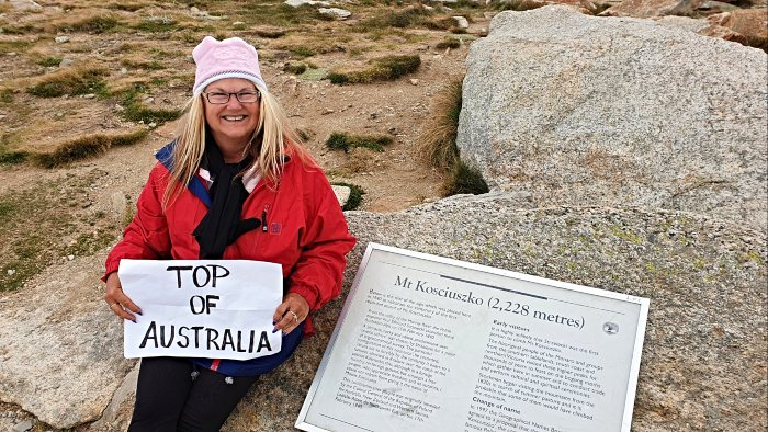 Top of Australia - Mt Kosciuszko