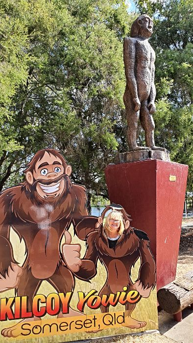 Big Things of Australia - The Big Yowie in Kilcoy Qld