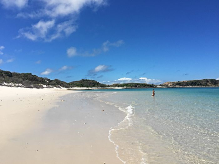 One of the 17 beaches on Great Keppel Island