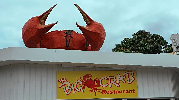 Big Things of Australia - The Big Crab in Miriam Vale