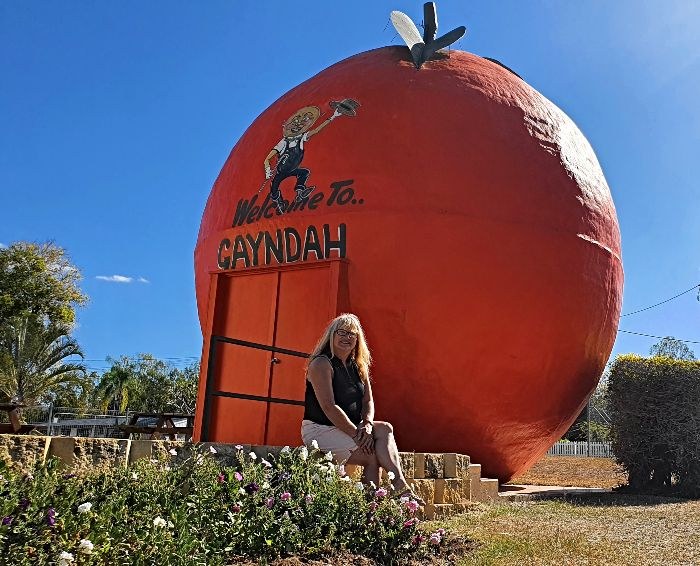 Big Things of Australia - The Big Orange at Gayndah Qld
