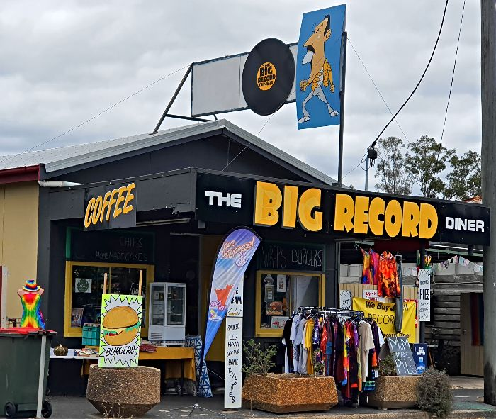 The Big Record in Miriam Vale Qld