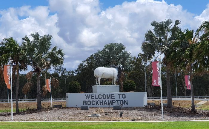 Big Things of Australia - The Big Brahman Bull Rockhampton Qld
