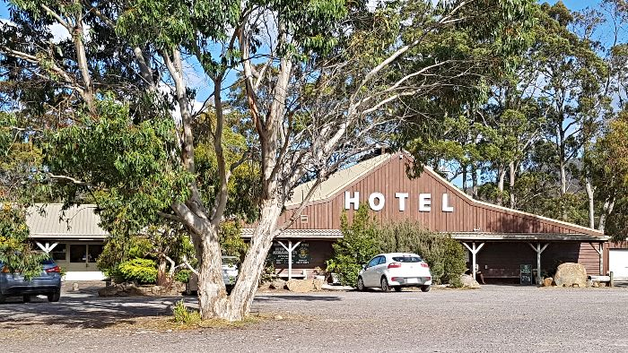 Derwent Bridge Hotel - One of the great free camping spots in Tasmania