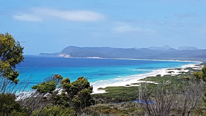 Friendly Beaches- One of the best free camps in Tasmania