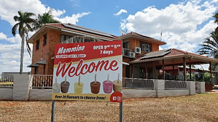 Memminos Gourmet Ice cream is at nerby Childers and why Bundaberg is definitely worth visiting