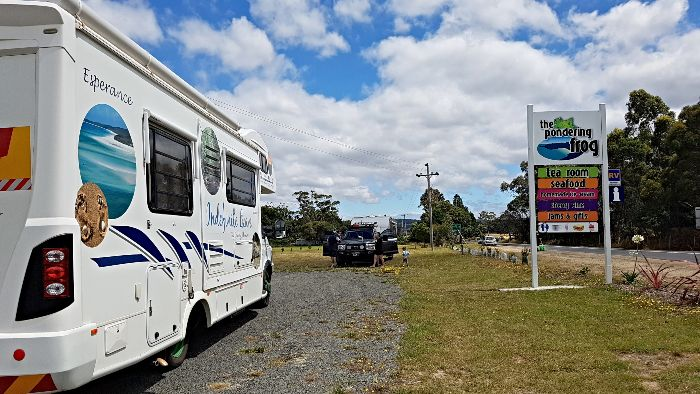 Great Free Camping in Tasmania at The Pondering Frog