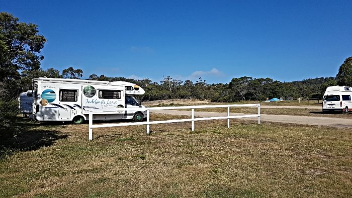 Freycinet Golf Club Low Cost Campground in Tasmania