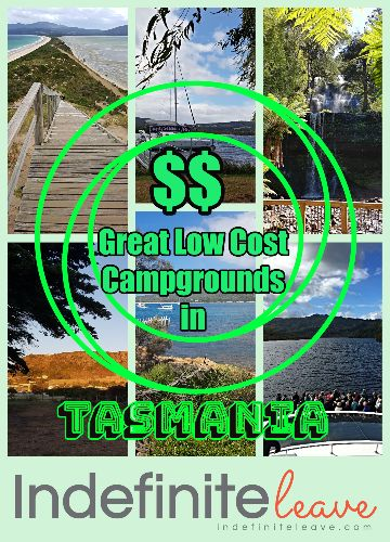 Great Low Cost Campgrounds in Tasmania