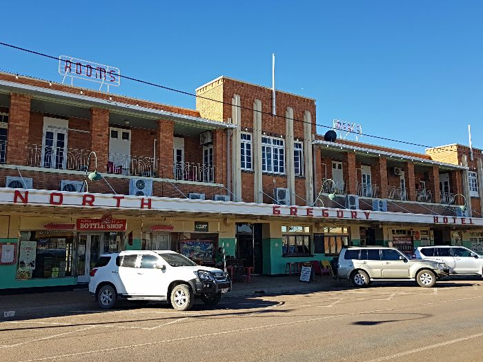 The historic North Gregory Hotel
