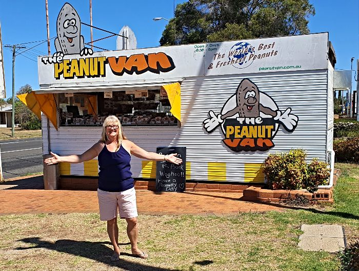 The Peanut Van in Kingaroy