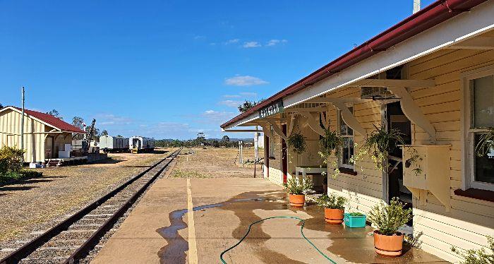 Gayndah Heritage Railway Station