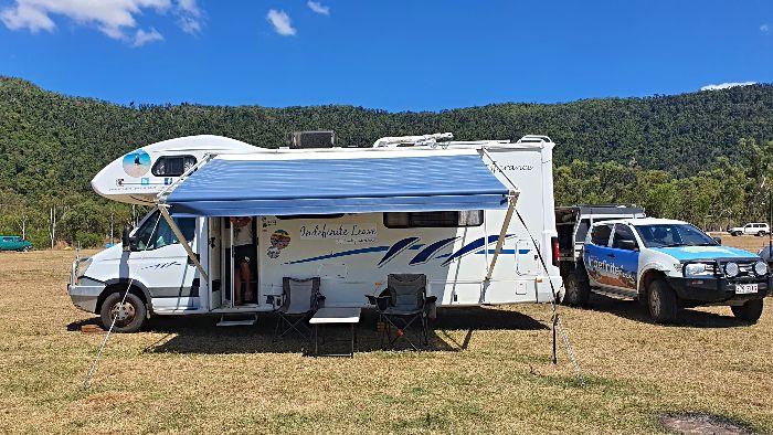 Peter Faust Dam Camping