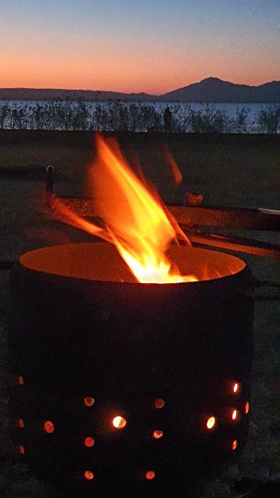 Peter Faust Dam Campfire