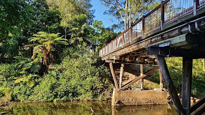 Broken River Bridge Eungella National Park