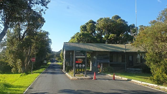Wilsons Promotory National Park Entry