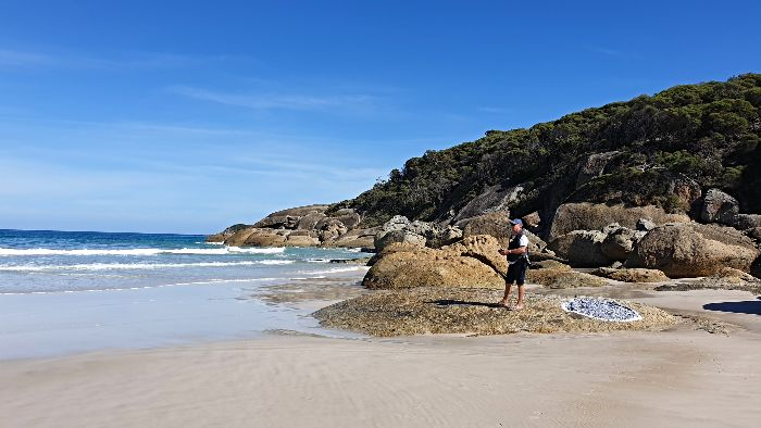 Wilsons Promontory Camping - Squeaky Beach