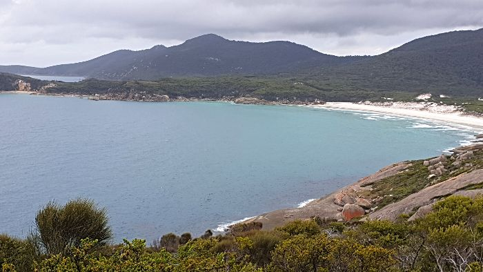 Pillar Point Lookout View of Squeaky Beach