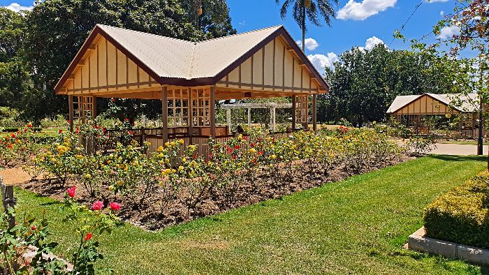 Qld State Rose Garden Toowoomba