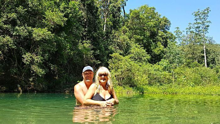 Booloumba Creek Swimming