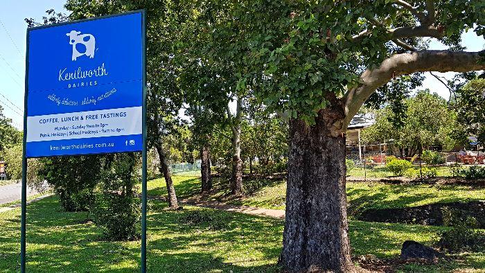 Kenilworth Dairies Sign