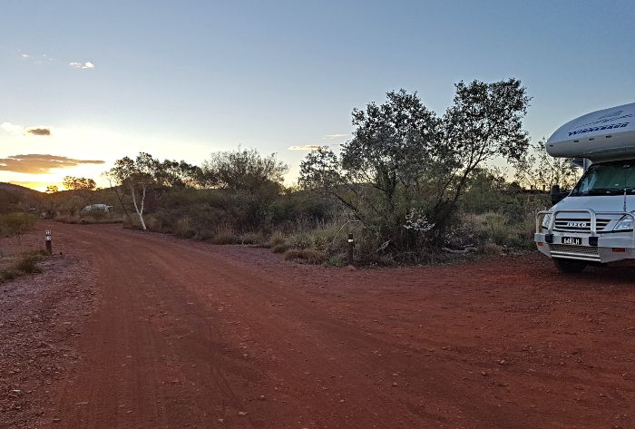 Dales Campground Campsite - Our Karijini Camping stay