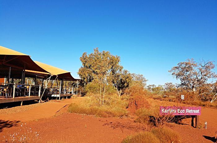 Karijini Eco Retreat - One of the two Karijini Camping options
