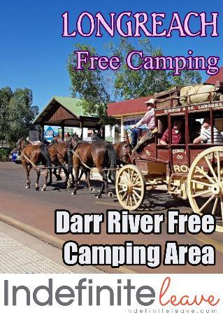 Pin - Longreach Free Camping