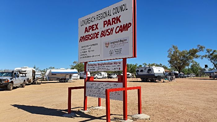 Longreach Camping at the Apex Riverside Park