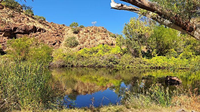 Brisbane to Darwin Free Camping at Corella Dam