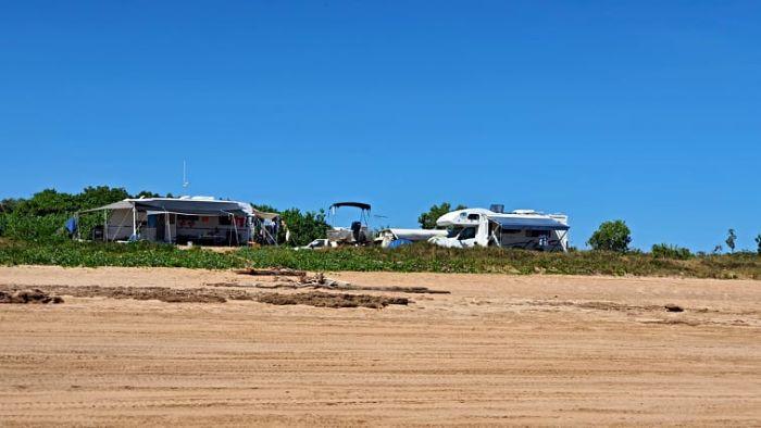 Brisbane to Darwin Free Camping at Gunn Point