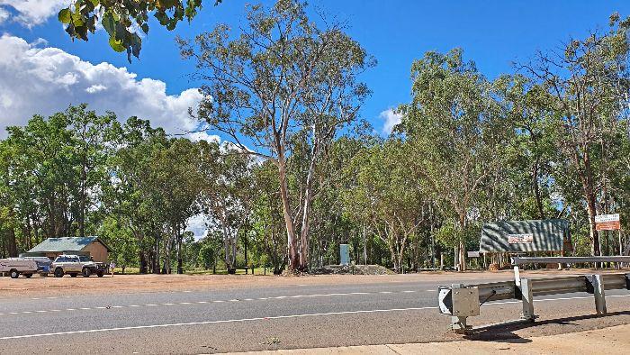 Brisbane to Darwin Free Camping at Miles