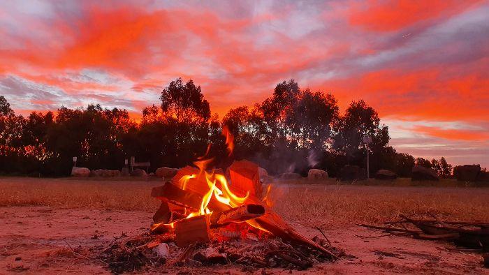 Brisbane to Darawin Free Camping at Mitchell