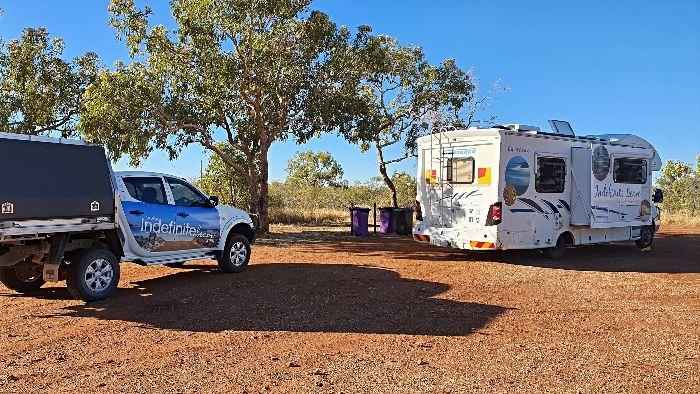 Brisbane to Darwin Free Camping at Soudan Bore