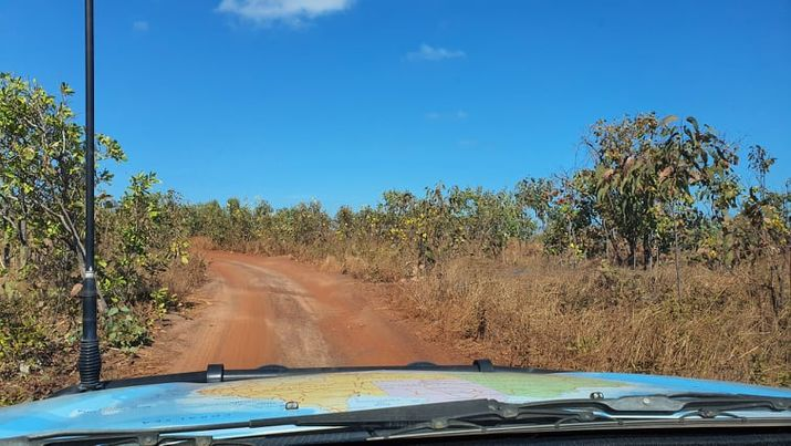 Track in to an awesome Darwin Camping spot