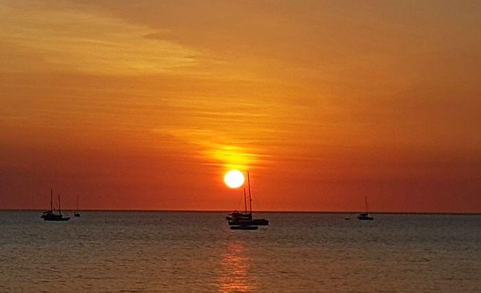 Trailer Boat Club Sunset