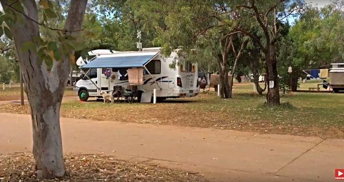 Fitzroy Crossing Caravan Park Campsite