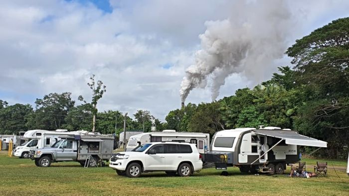 Self-Contained RV Park at Tully Showgrounds