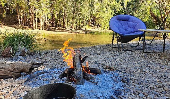 Free Camping in Gregory