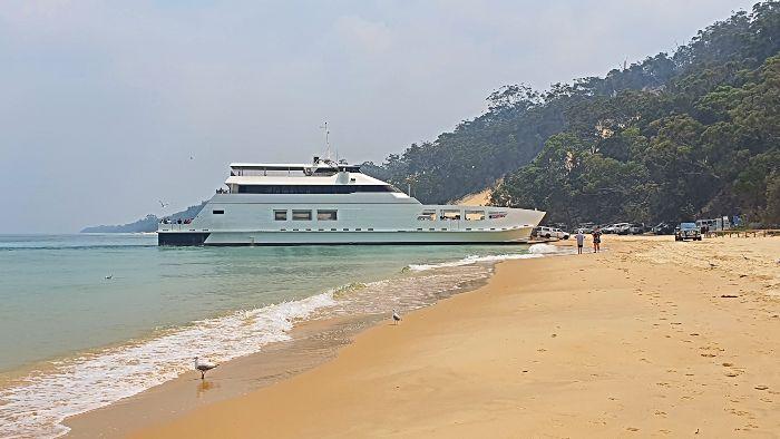 Moreton Island Barge Landing