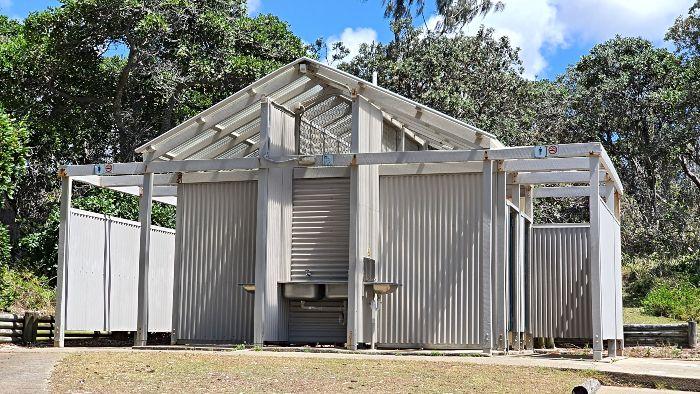 Moreton Island Camping Ground Toilet Block