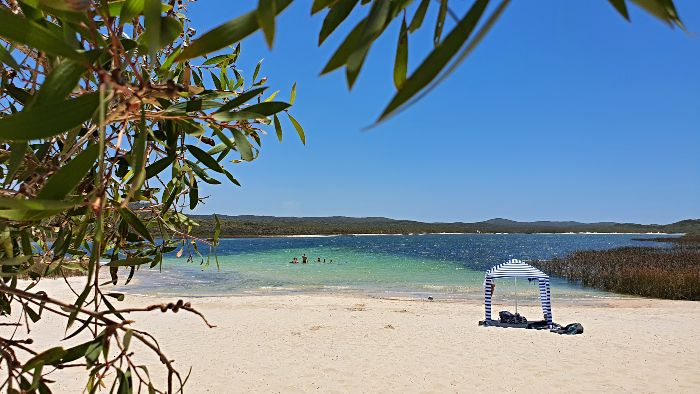 Blue Lagoon Moreton Island
