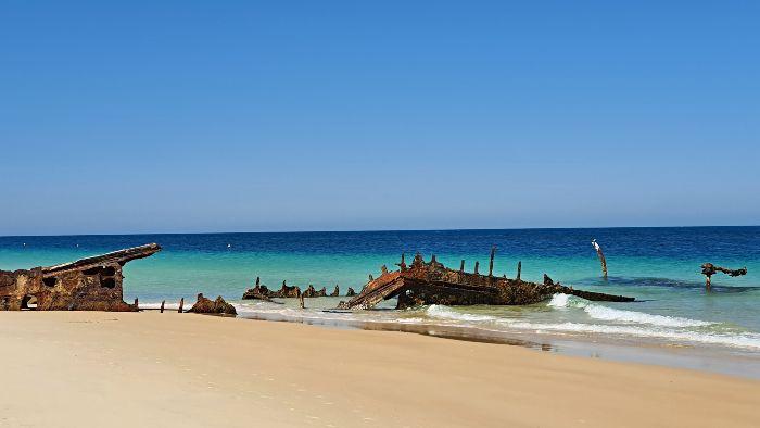 Bulwer Wrecks Moreton Island