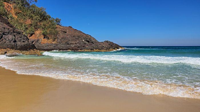 Cape Moreton Beach Moreton Island