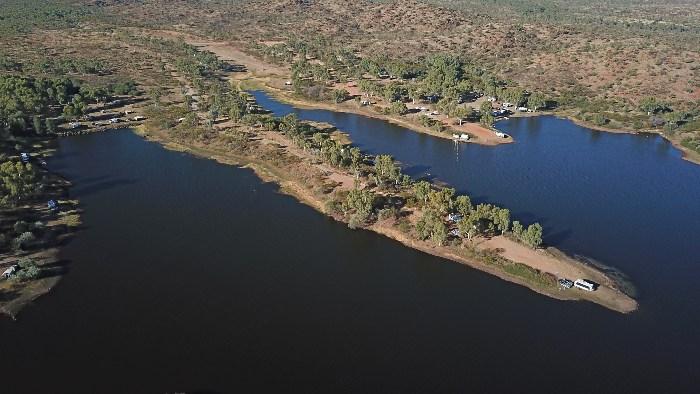 Free Camping in Australia at Corella Dam
