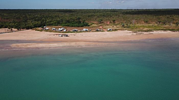 Free Camping in Gunn Point